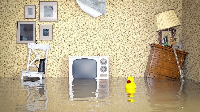 Home flooded? Less to worry about if you have home contents insurance.